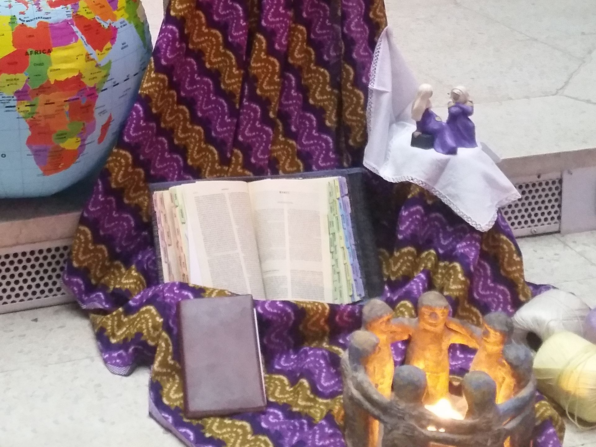 La oración es el gran medio que fortalece toda nuestra vida